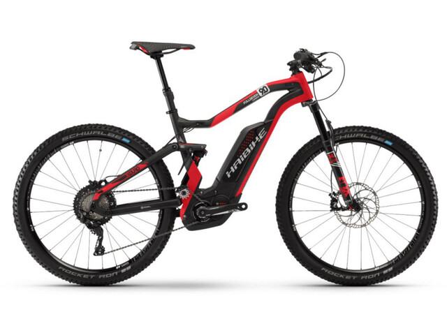 HAIBIKE XDURO FullSeven Carbon 9.0 carbon/red/silver matte
